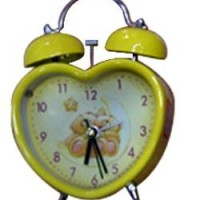 CK-1 yiwu yellow clock kid's gift