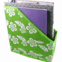 OF-2 yiwu green file holder office supplies