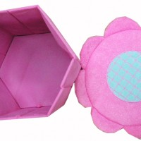 HS-2 yiwu soft pink storage box daily commodity