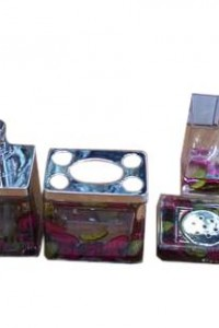 BRS-2 yiwu beautiful 4pcs bathroom set