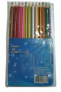 S-4 yiwu 12 color pencil student supplies