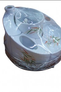 BRS-4 yiwu porcelain bathroom set