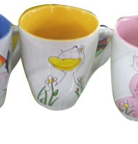 CP-7 yiwu lovely printed animal cup