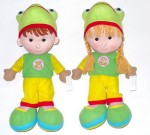 928-218 yiwu green color kids dolls toy