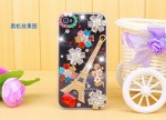 PC-17 colored diamond tower iphone case photo