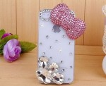 pc-55 pearl bow phone case photo