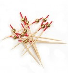 FS-44 Yiwu Bamboo Wood Fruit Sticks photo